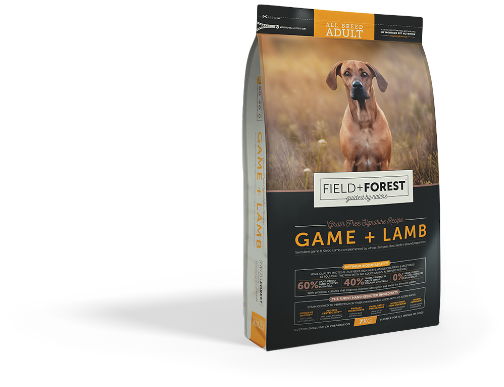 Pet Nutrition Products for Adult Dogs - Game & Lamb