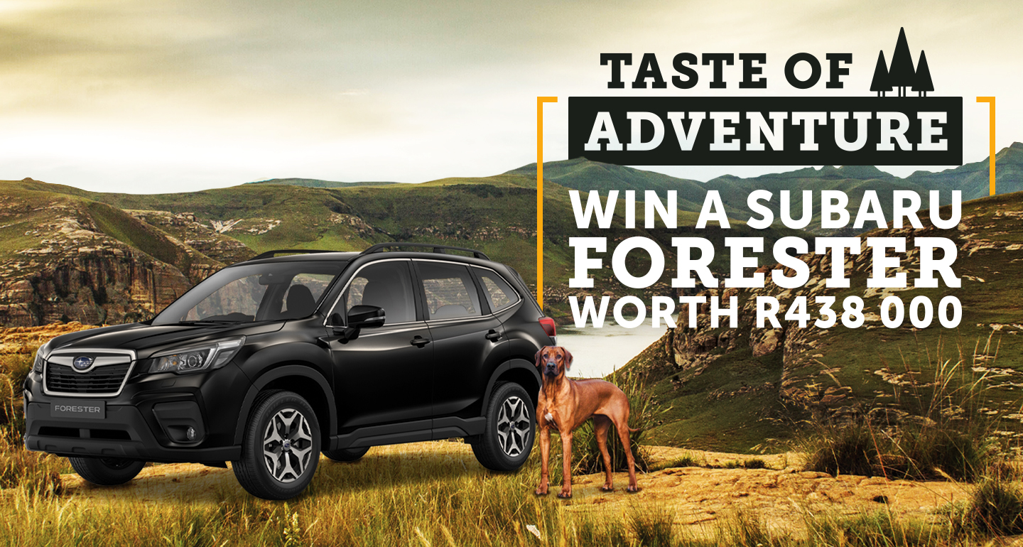 Win a Subaru Forester valued at R438 000! | Field + Forest